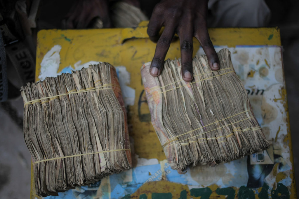Somali shilling notes